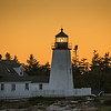 Pemaquid Light at dusk, June 27, 2014