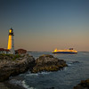 Nova Star ferry passes Portland Head Light