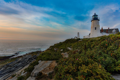 DAWN AT PEMAQUID LIGHT