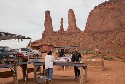 Navajo Trading Post at Three Sisters