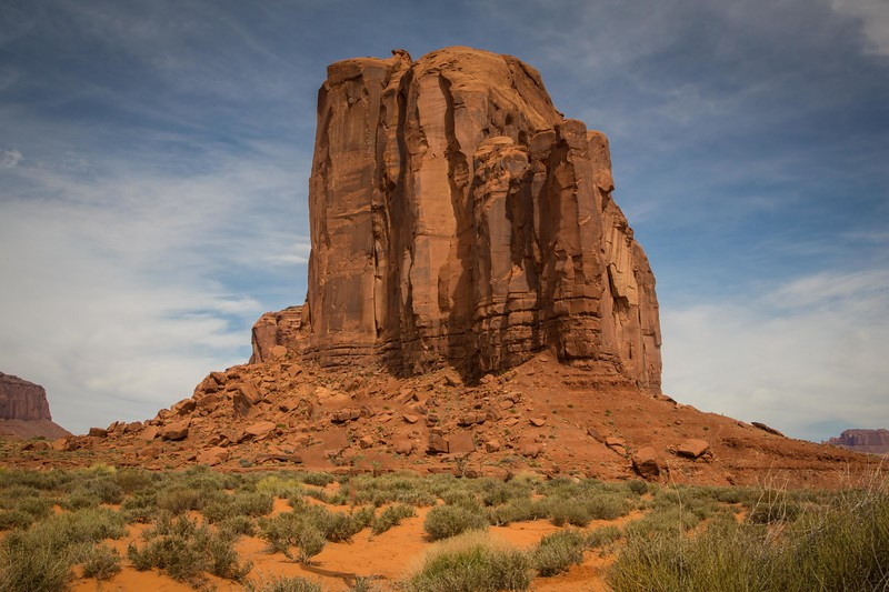 Cly Butte at Monument Valley