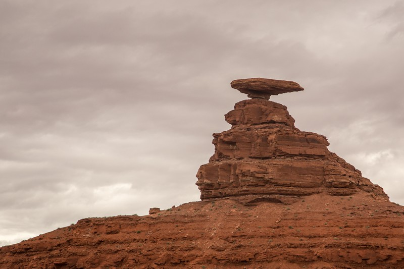 Mexican Hat sandstone formation