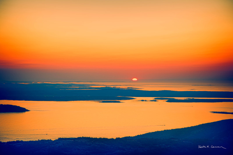 Sunrise, Cadillac Mountain, Acadia NP