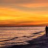 Sunset, Sanibel Beach, January 16, 2015