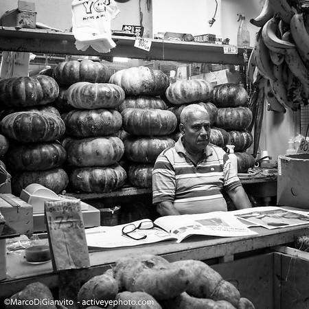 Puerto Rico - El Rey de la Calabaza, Mercado de Rio Piedras