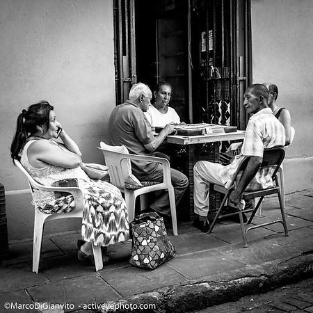 Puerto Rico - domino en el Viejo San Juan