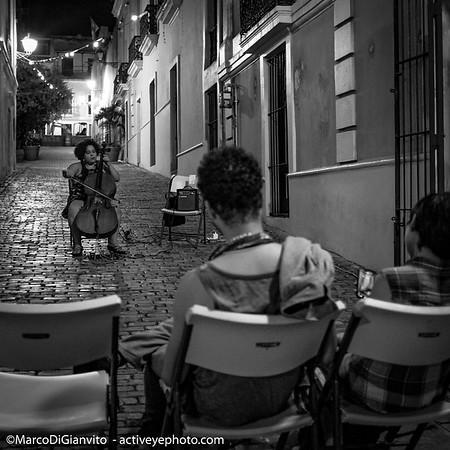 Puerto Rico - vida nocturna en el Viejo San Juan
