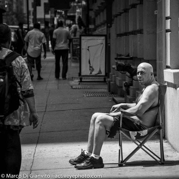 Manhattan - sunbathing