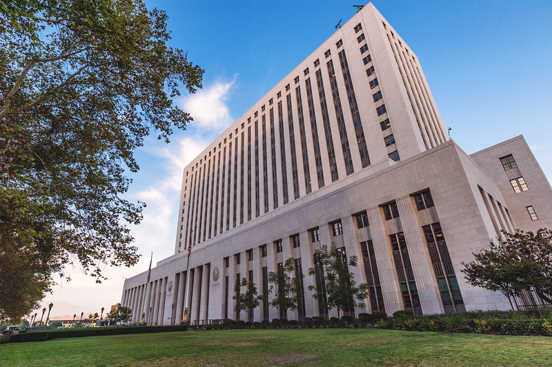 United States Court House, downtown Los Angeles