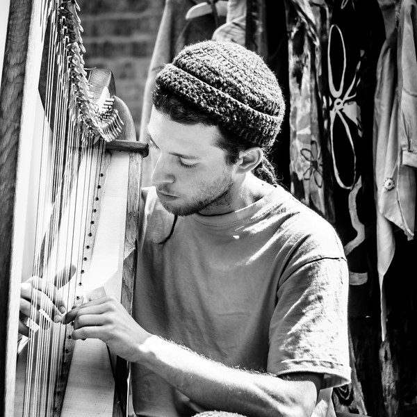 Harpist - London