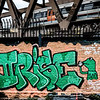 Graffiti Allen Park London UK