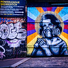 Street Art Shoreditch London UK