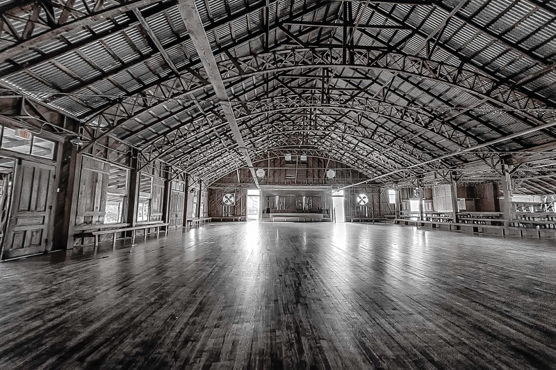 ANHAULT DANCE HALL, Spring Branch Texas   set. 1875