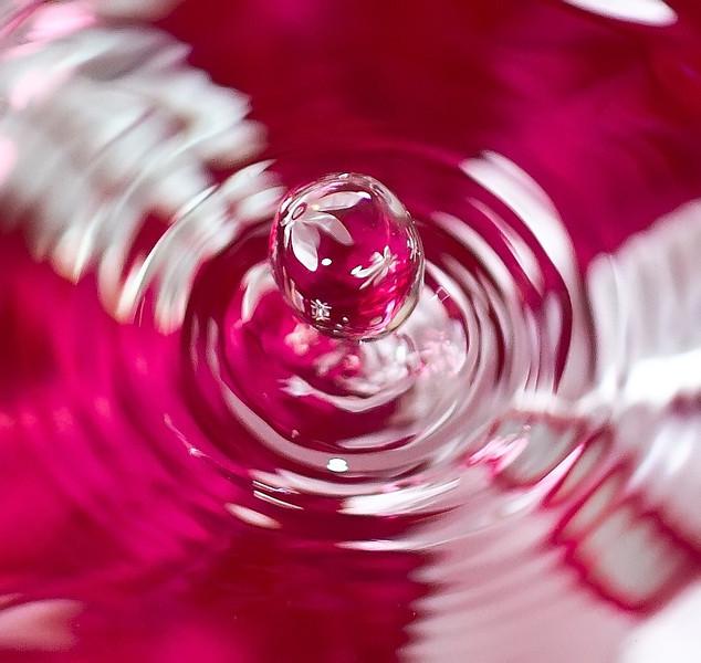 flower droplet