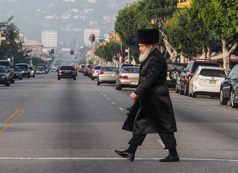 Hasidic Jewish Man in his Orthodox Dress