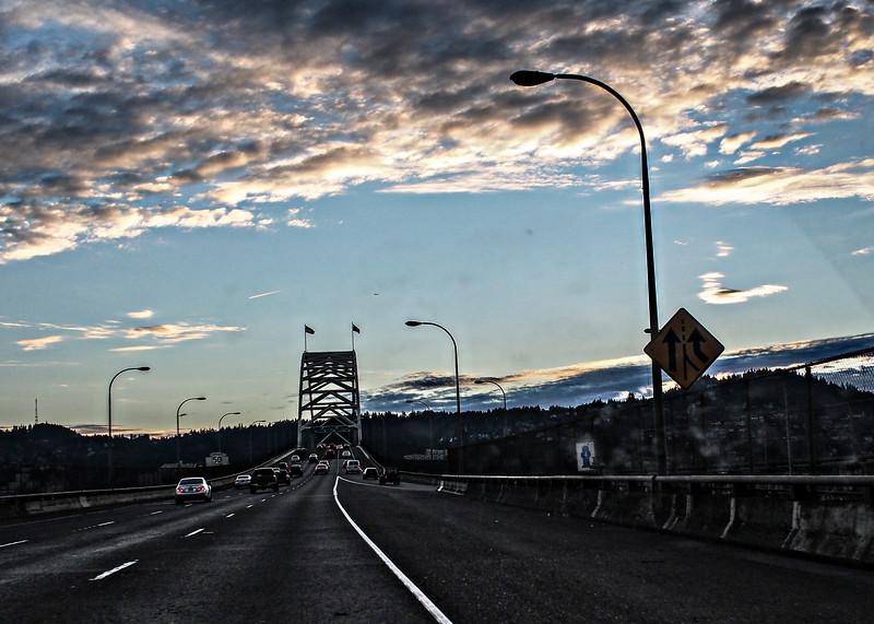 Bridge in Portland, Oregon