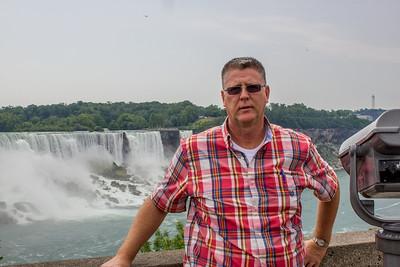 John A. Miller at Niagara Falls, Ontario, Canada