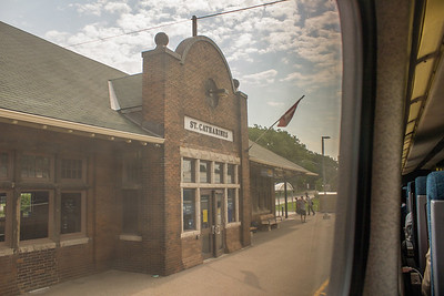 Train Depot, St. Catharines, Ontarion, Canada.