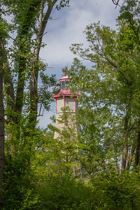Lighthouse amongst the Trees.