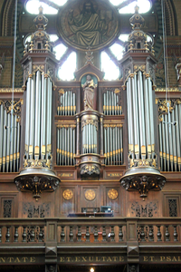 St. Nicholas Church Amsterdam.  The 19th Century Sauer Organ
