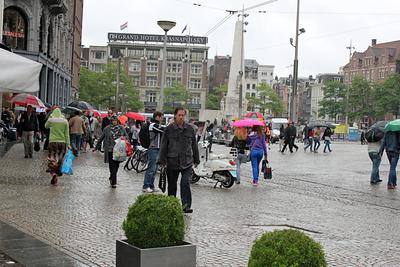 Dam Square Amsterdam, Netherlands
