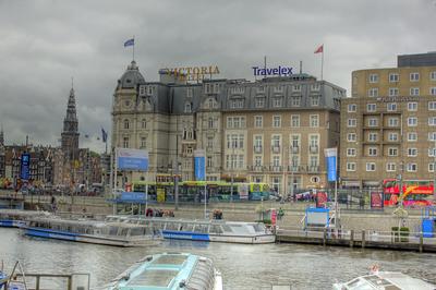 Park Plaza Victoria Amsterdam corner of Damrak and Prins Hendrikkade