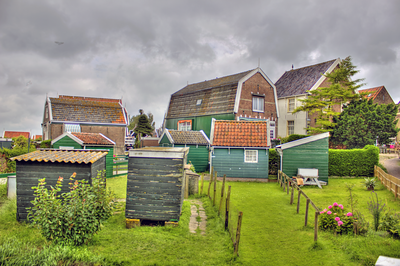Way of life in Marken