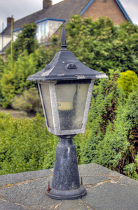 Street light in Marken