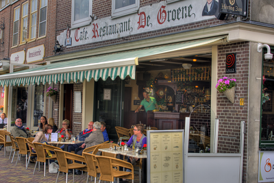 Cafe in Volendam, Netherlands