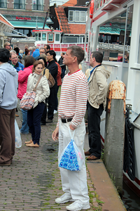Aaron in Volendam, Netherlands