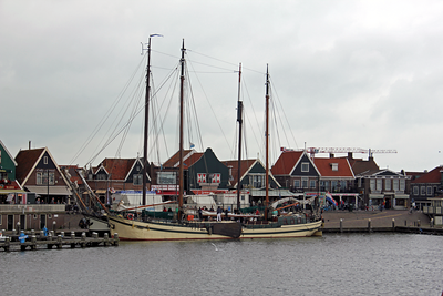 Fishing village of Volendam
