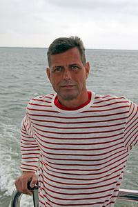 Aaron on the North Sea
