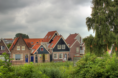 Houses of Volendam, Netherlands