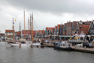 Old fishing village of Volendam