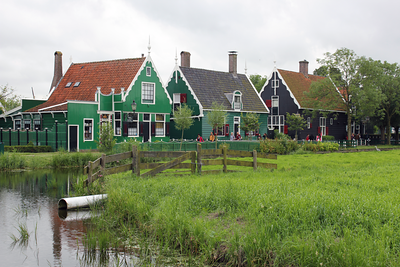 Village houses of Zaanse Schans Netherlands