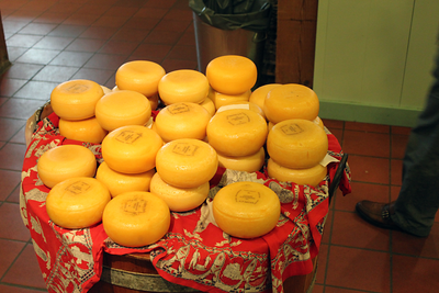 Wax covered cheese in Zaanse Schans Netherlands