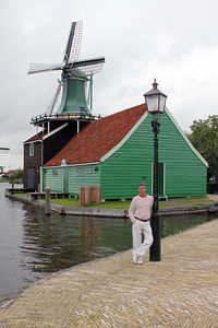 Aaron Wood in Zaanse Schans Netherlands