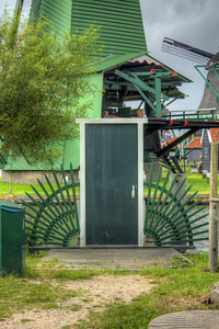 The front door to nothing... Zaanse Schans Netherlands