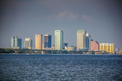 Tampa Overlooking Bayshore Blvd.