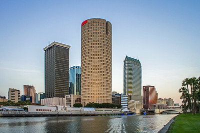 Tampa Skyline from the River Banks