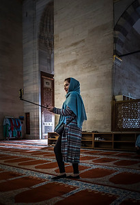 Sadly, selfie sticks have made it into even sacred spaces! That's all I will say on the subject of how people are fixated on themselves!
