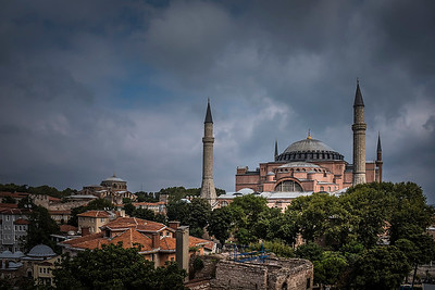 NOT the Blue Mosque, but the Hagia Sophia church, also known as St. Sophia. This is the view from the balcony of my hotel room! Not too shabby! If you are traveling to Istanbul, this is a perfect boutique hotel to stay: http://www.andhotel.com/