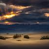Mesquite Flat Sunset