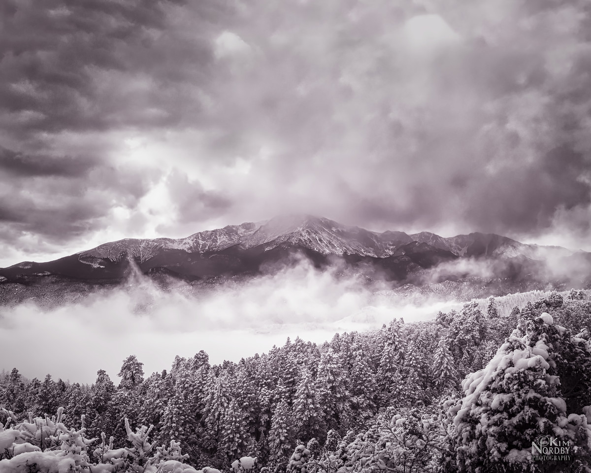 Pikes Peak - Clearing Storm