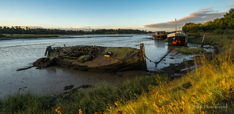 Sunrise Woodbridge River Deben