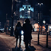 While you were sleeping.......Observing the frenzied kinetic energy of the streets at night. Warsaw, Poland