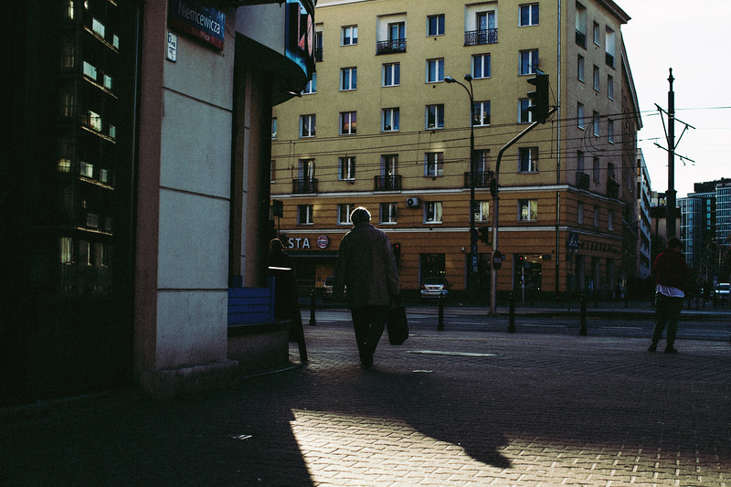 Urban Consciousness, an interaction with the city and the people who inhabit it.  Poland