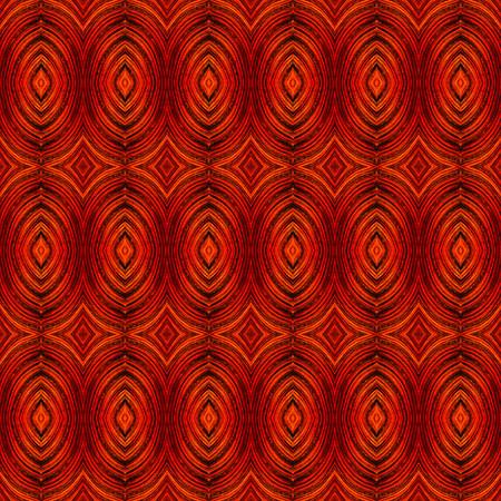 Red Leaf Geometrics I