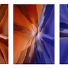Mesa Transition I, II, II as triptych