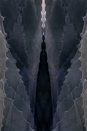 Agave Goddess (triptych center panel)
